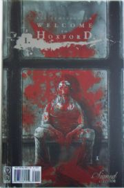 Welcome To Hoxford #1 Unsigned Error Foil Variant (2008) Ben Templesmith IDW Publishing comic book